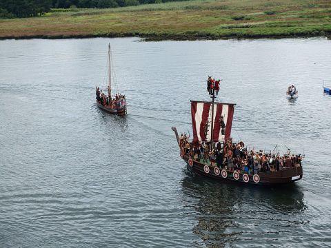ヴァイキング船の写真