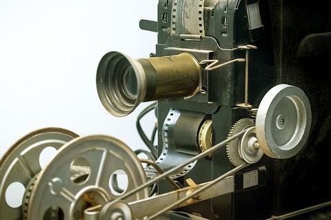 映画の映写機の写真