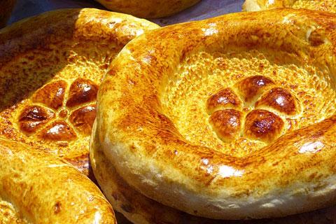 中央アジアのパンの写真