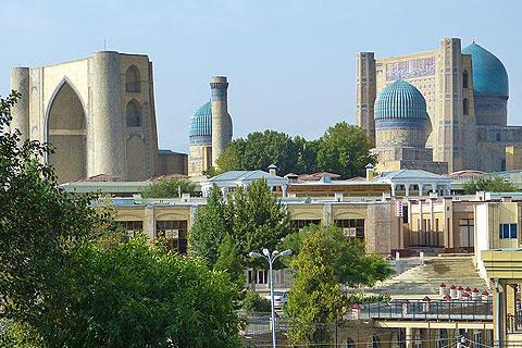 ウズベキスタンの建物の写真